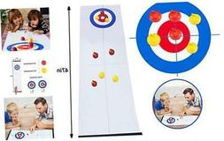 GAYISIC Tabletop Curling Game Family Indoor Sport Games for
