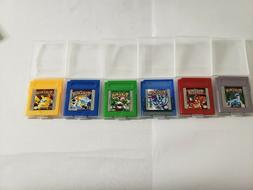 GBC Pokemon Games! Pick and Choose; NEW Tested with FREE Shi