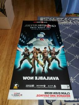 Ghostbusters The Video Game Exclusive Store Display Posters