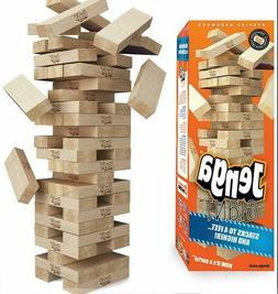 Jenga Giant Genuine Hardwood Game Stacks to 4 Feet.