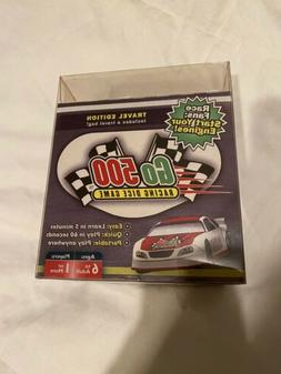 Go500 Car Racing Dice Game, Travel Ed. Great for NASCAR Fans