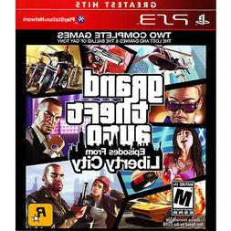 Grand Theft Auto: Episodes from Liberty City PS3