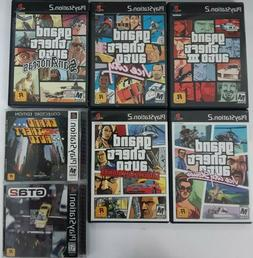 Grand Theft Auto games  Ps2 TESTED