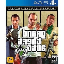 Grand Theft Auto V Premium Edition GTA 5 PS4 Brand New