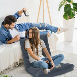 Gray Floor Gaming Sofa Adjustable Chair for Adults & Kids 14