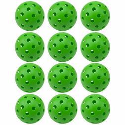 GSE Games & Sports Expert 40 Holes Outdoor Pickleball Balls