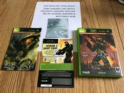 Halo 2 Original Xbox Original Case Cover Art Manual NO GAME