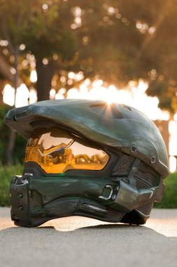 Halo Master Chief Wearable Helmet Full Size Spartan Cosplay