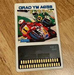 Hang On II 2 Japan Ver SEGA MY CARD Mark III 3 SG1000 SC3000