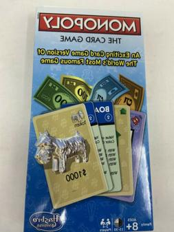 Hasbro Gaming Monopoly The Card Game New 1217 The Exciting F