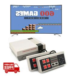 Home Retro HDMI TV Game Console Built-in 600 Classic Games F