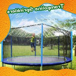 HONYOU Trampoline Sprinkler Waterpark for Kids,Summer Outdoo