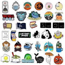 """I Love You 3000"" Cartoon Enamel Brooch Pin Collar Badge Cor"