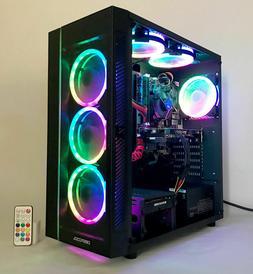 i7 Gaming PC Desktop Computer 3GB GTX 1060 Quad Core 2TB 16G