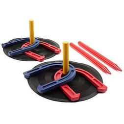 Indoor/Outdoor Rubber Horseshoe Game Set For Kids