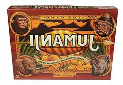 **NEW** JUMANJI WOODEN Play Pieces BOX BOARD GAME Full Sized