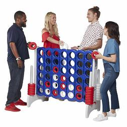 ECR4Kids Jumbo Four-To-Score Giant Game 4-In-A-Row Connect -