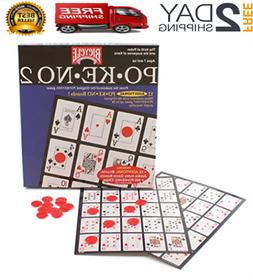 """Jumbo Pokeno Game Each board Size Is 9 1/2"""" x 7"""" With Pictur"""