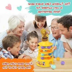 Kidpal Tubling Cake Board Game Kids Ages 4-8 Family Games wi