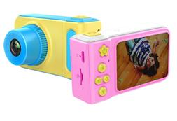 Odyssey Kids Full HD Mini Camera Camcorder with Built-in Vid