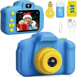 Kids HD 1080p Video Digital Camera Boys Girls Toys Puzzle Ga