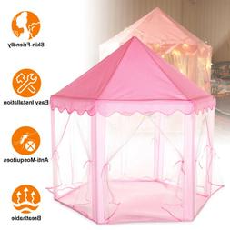 Kids Princess Play Tent Children Girls Castle Games House fo