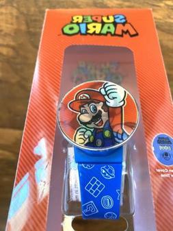 Kids Super Mario & Luigi Hologram Lenticular Cover Watch Age