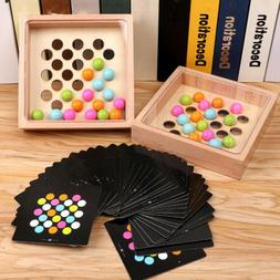 Kids Wooden Finger Game For Parent-child Party Matching Game