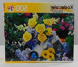Kodacolor 500 Piece Jigsaw Puzzle - Birdhouse and Nest