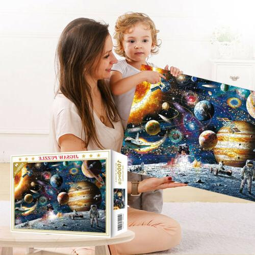 1000 Jigsaw Puzzles Education Learning Game Puzzle Adult - Planets