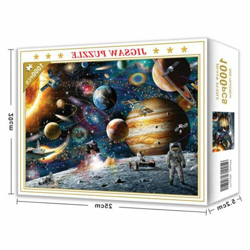 1000 Jigsaw Education Learning Adult Space