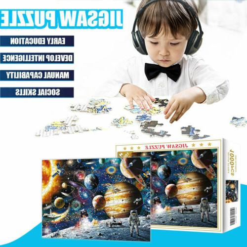 1000 Pieces Jigsaw Education Learning Game Puzzle Adult