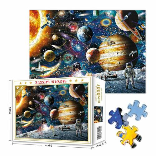 1000 pieces jigsaw puzzles education learning game