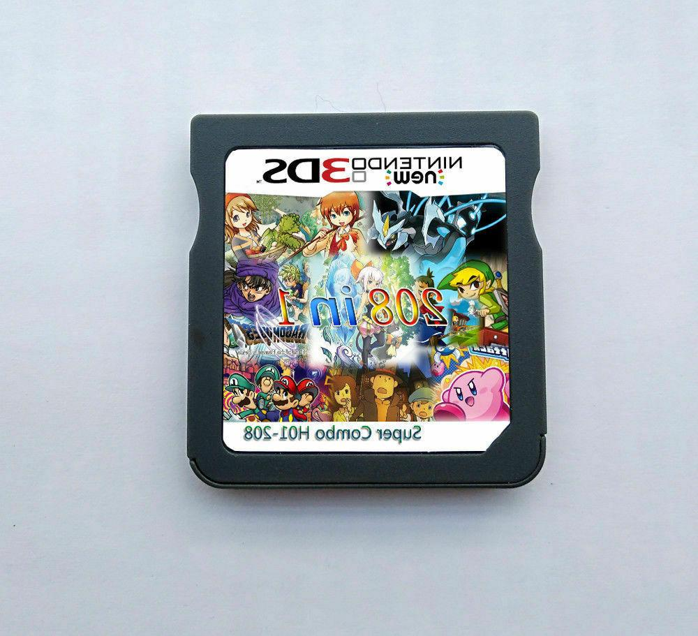 208 in 1 game games cartridge multicart