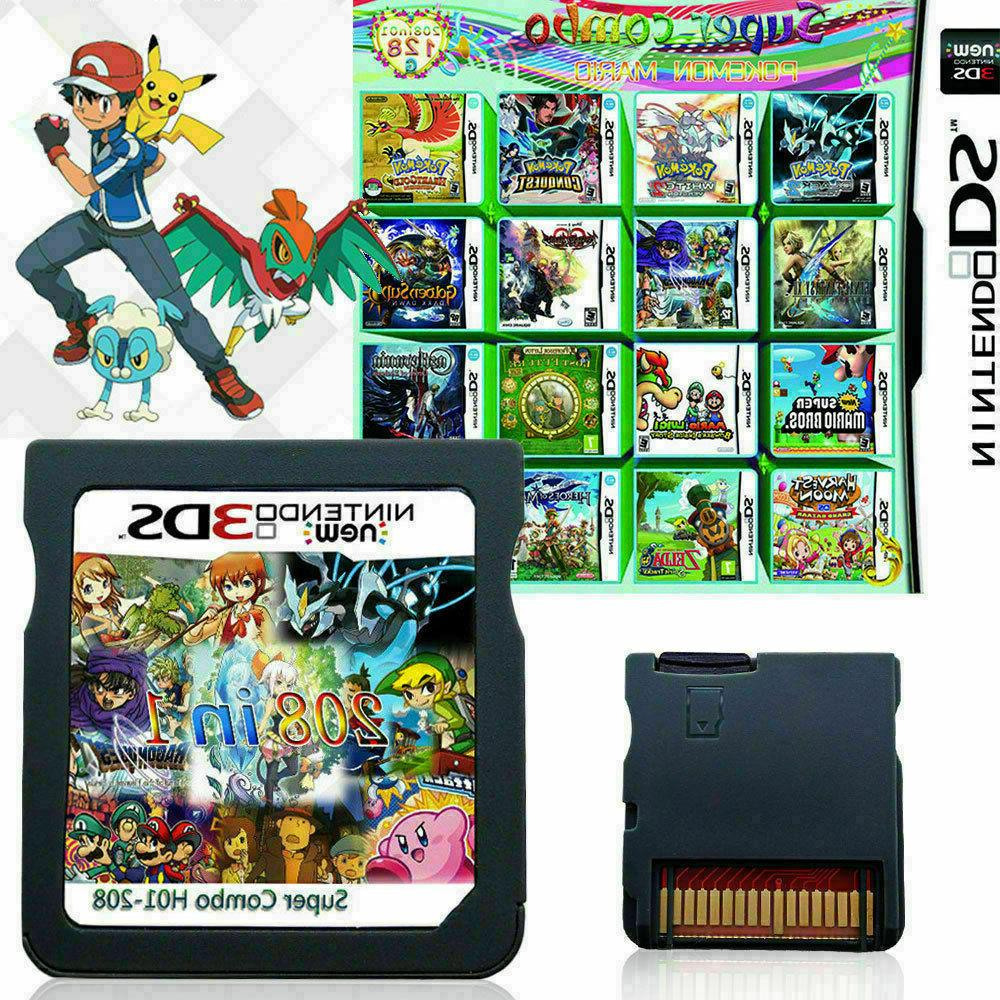 208 Cartridge DS NDS 2DS 3DS SHIP