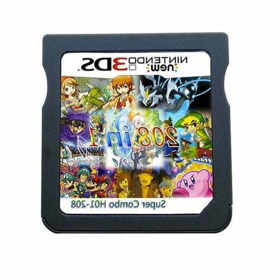 208 in 1 games cartridge multicart