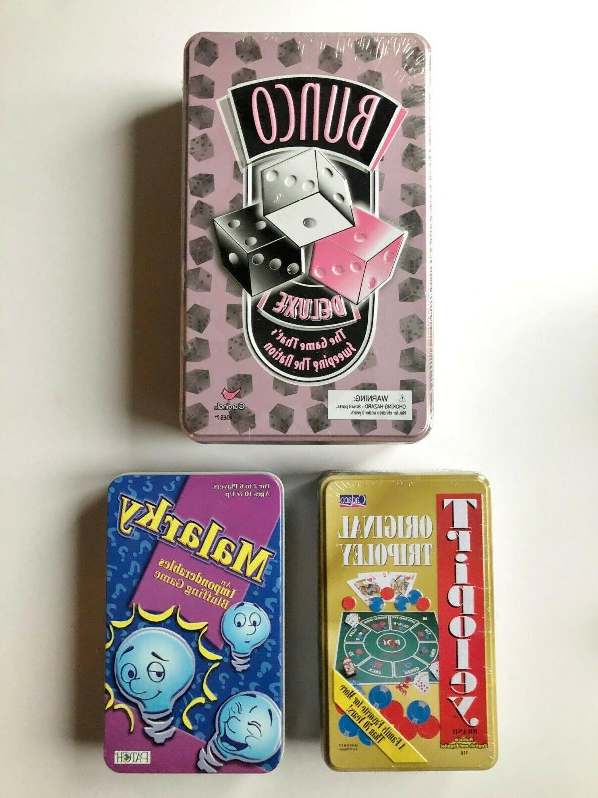 3 great games bunco deluxe tripoly