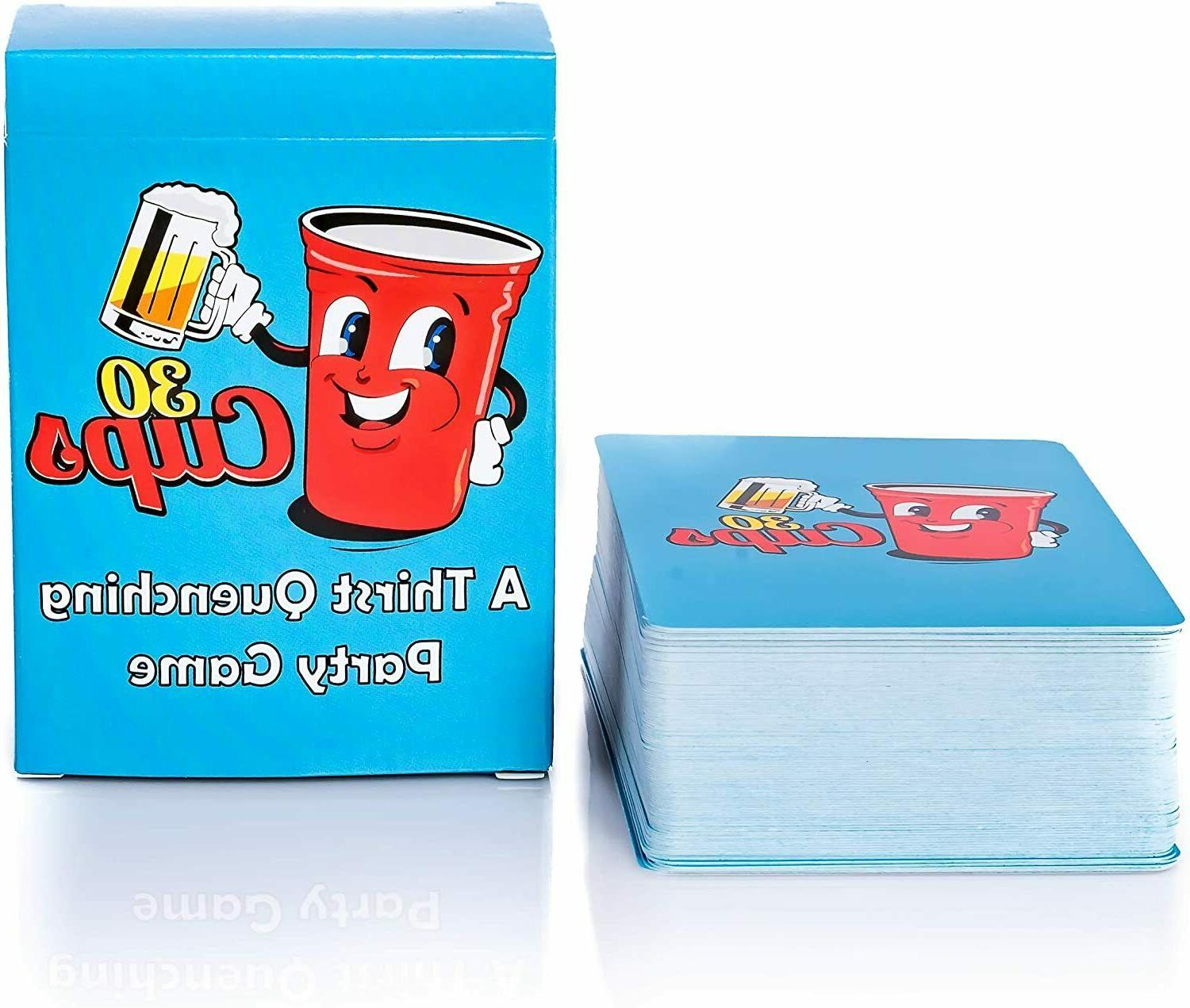 30 cups a thirst quenching adult drinking