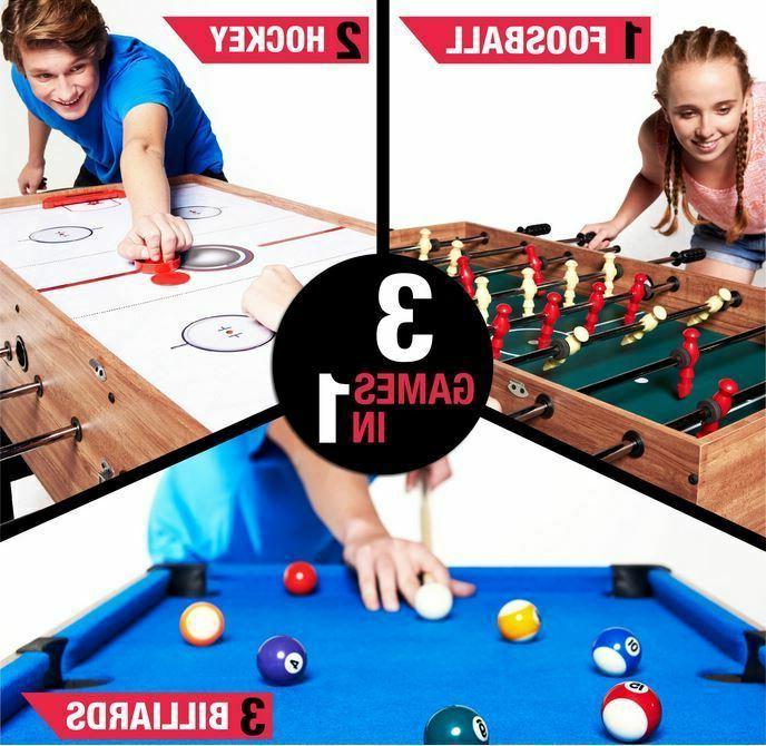 48 inch 3 1 Pool Foosball