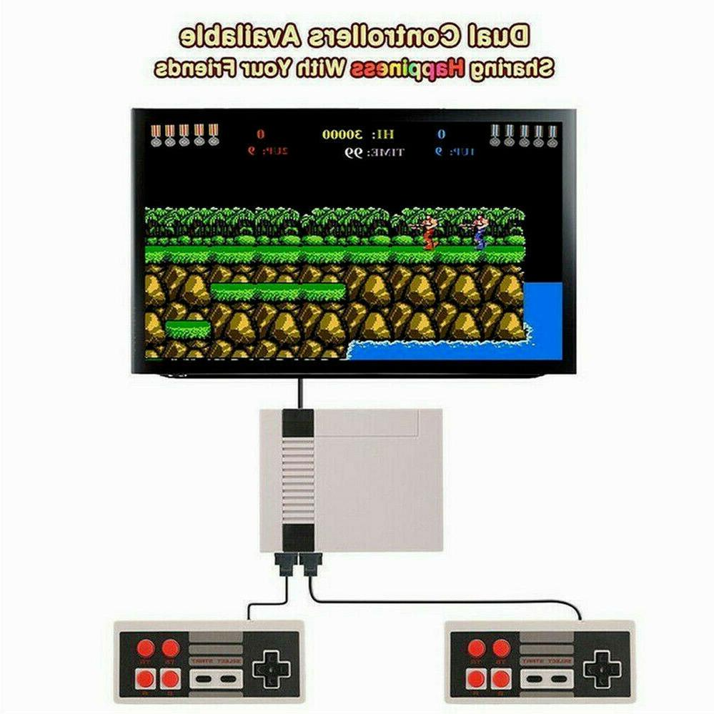620 Games Built-in Retro TV Game Classic Kids Gift