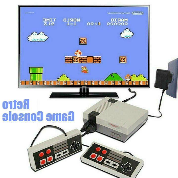 620 Games Mini Retro TV Game Classic NES Controller Kids Gift