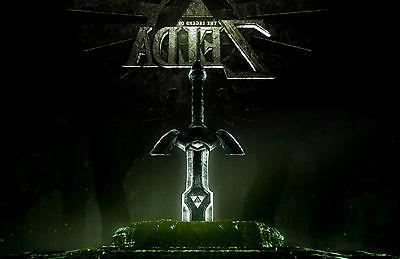 a4 poster the legend of zelda gaming