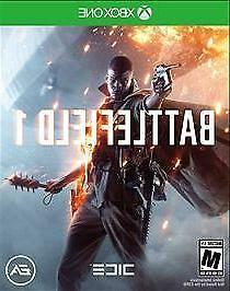 BATTLEFIELD 1 for XBOX ONE , EXCELLENT CONDITION, ADULT OWNE