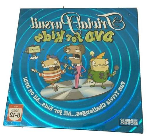 brand new trivial pursuit dvd for kids