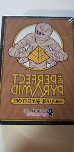 Bucephalus Games Cardgame Perfect Pyramid 4 Games in One. Br