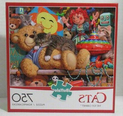 cats collection toy cabinet 750 piece jigsaw