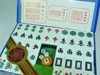 chinese mahjong set bamboo green 144 tiles
