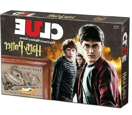 clue harry potter the classic mystery board