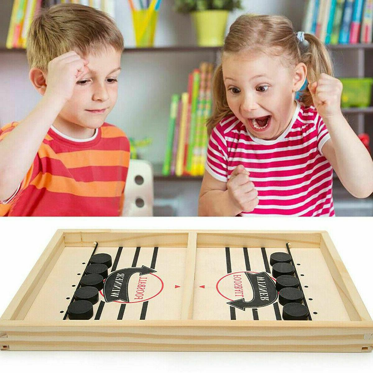 Family Funpeny Puck Game, Game Toy and Adults