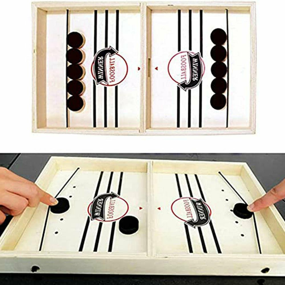 family funpeny fast sling puck game sling
